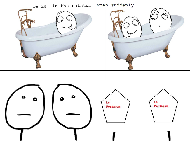 in le tub
