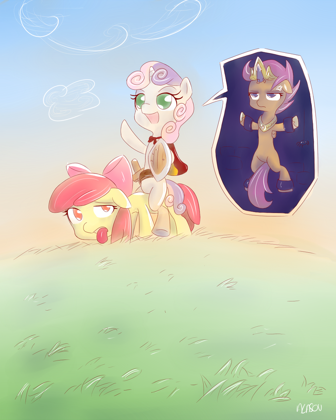 Cutie Mark Crusader to the rescue !