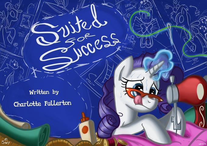 Suited for success title card