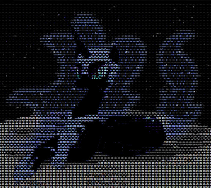 ASCII Moon