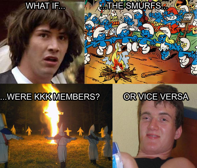 what if the smurfs