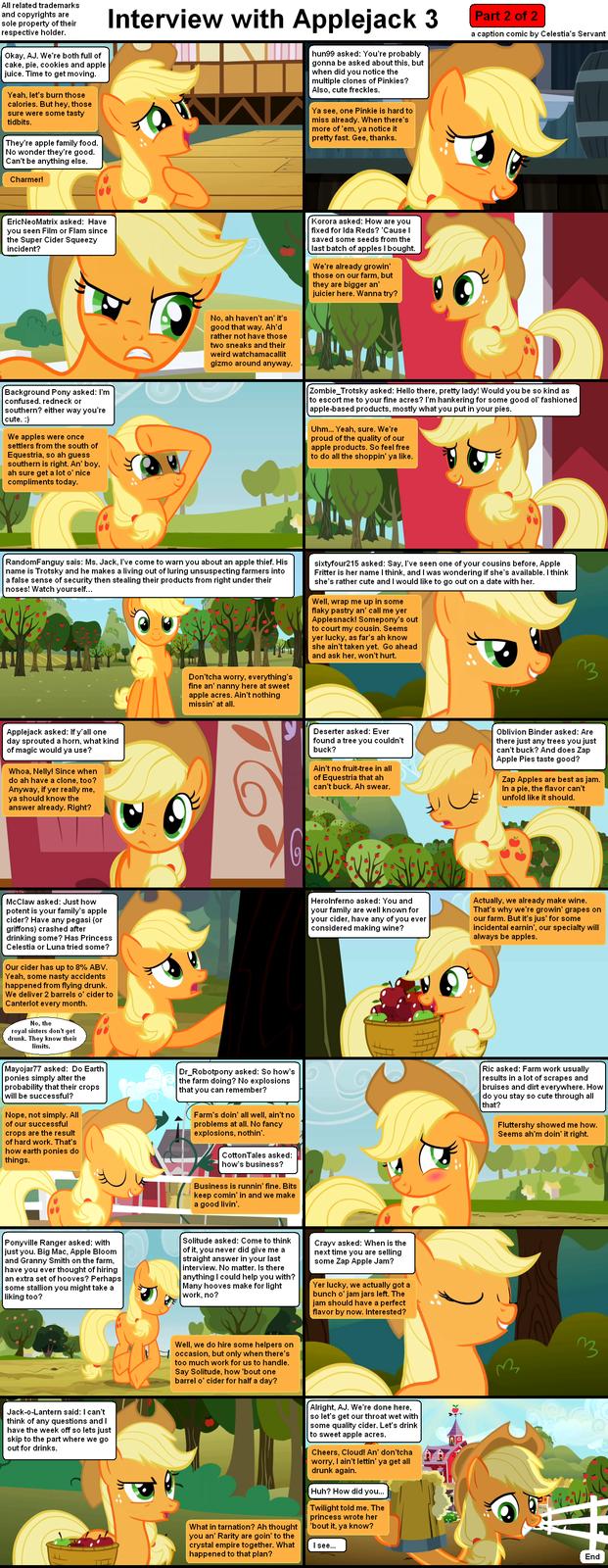 Interview with Applejack 3