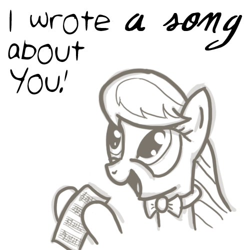 She wrote a song about you!