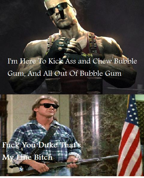 Roddy Piper Pissed At Duke Nukem