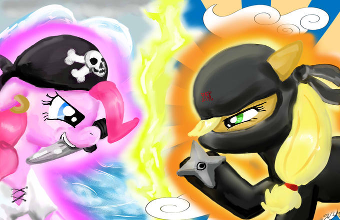 pirate pie vs ninjack