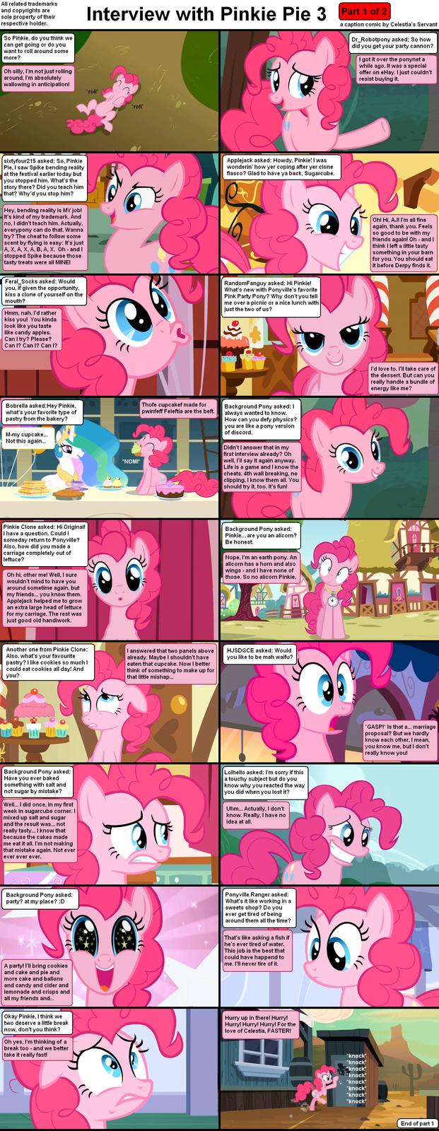 Interview with Pinkie Pie 3