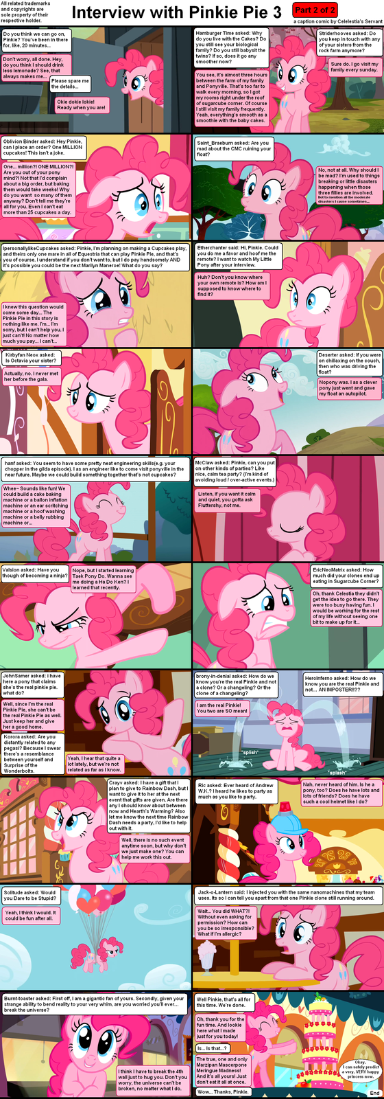 Interview with Pinkie Pie 3