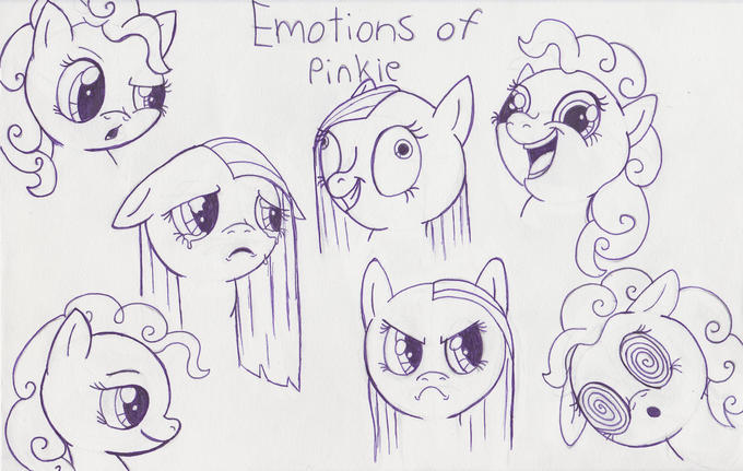 Emotions of Pinkie