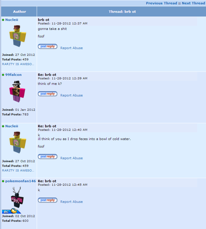 ROBLOX mods do their job very well.