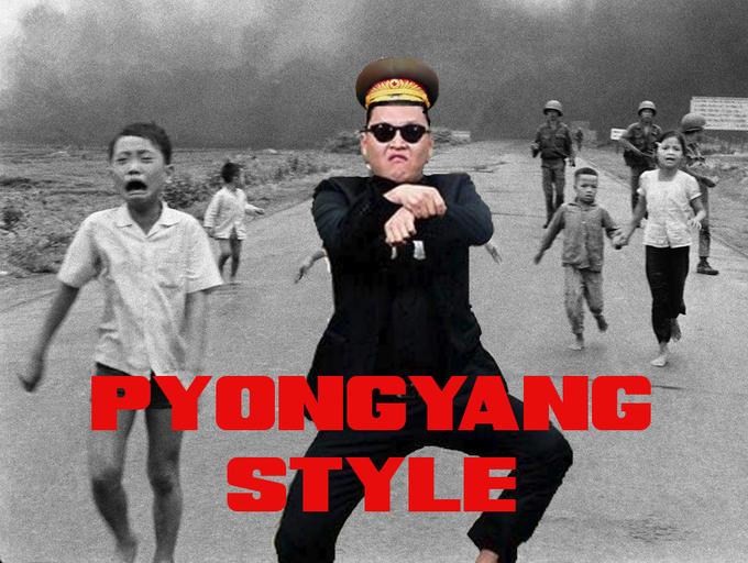 Pyongyang style!