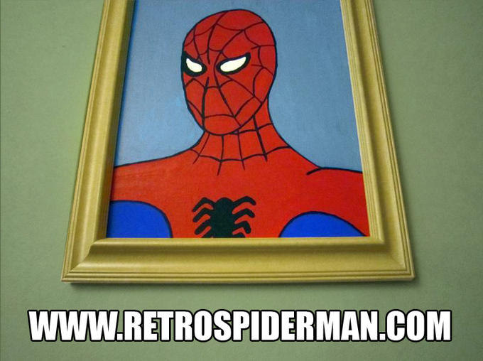 Spiderman Portrait