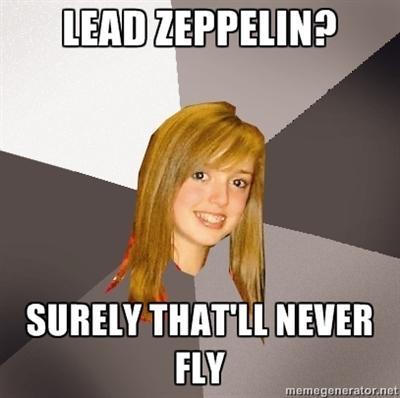 LEAD ZEPPELIN?