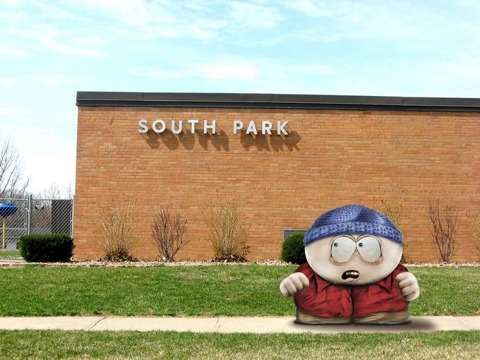 Eric Cartman at South Park