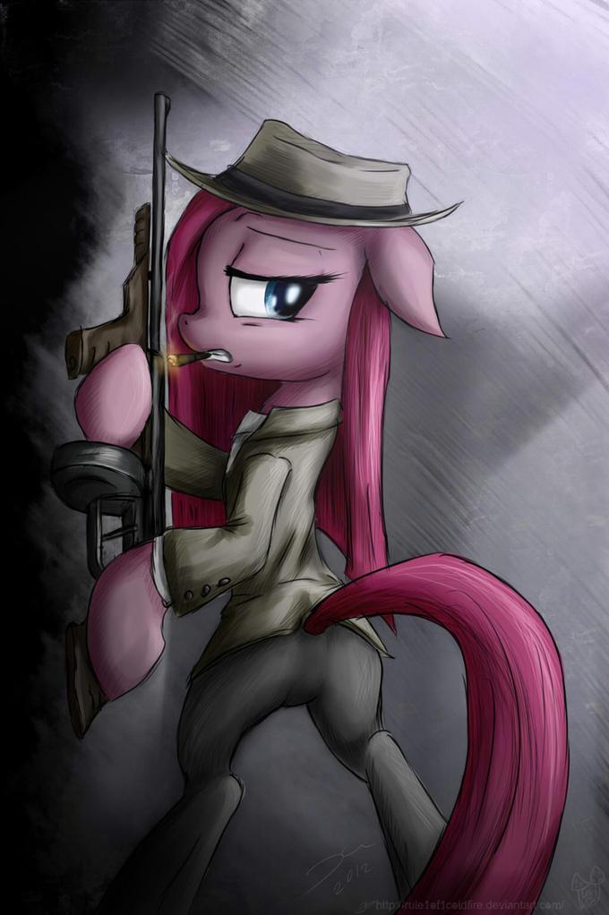 Pinkamena gangster