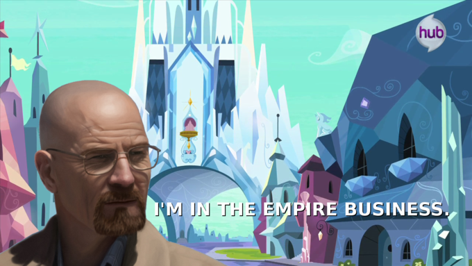 Walter White had a crystal empire before it was cool.