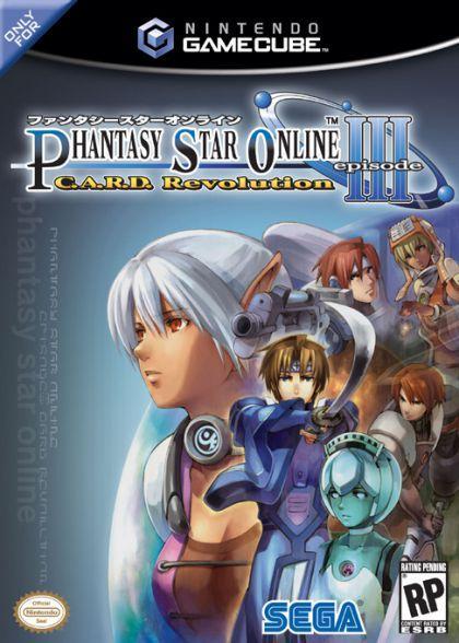 Phantasy Star Online Episode 3 CARD Revolution For Gamecube