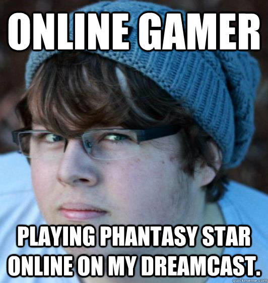 Online Gamer Hipster