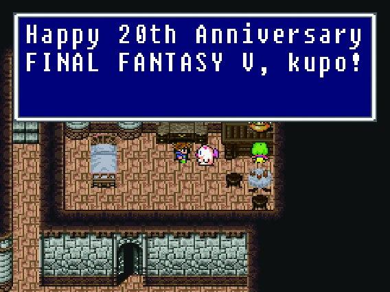 FF5 20th Anniversary