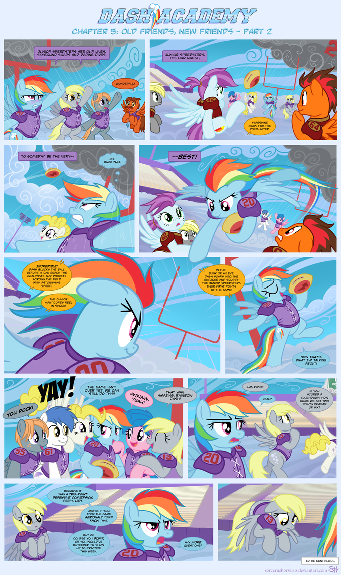 Dash Academy 5- Old Friends, New Friends 2