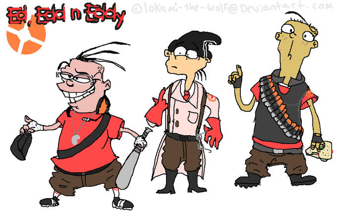 Team Fortress 2 Ed Ed n Eddy Crossover