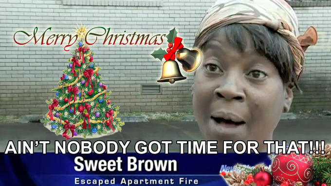 Sweet Brown Xmas