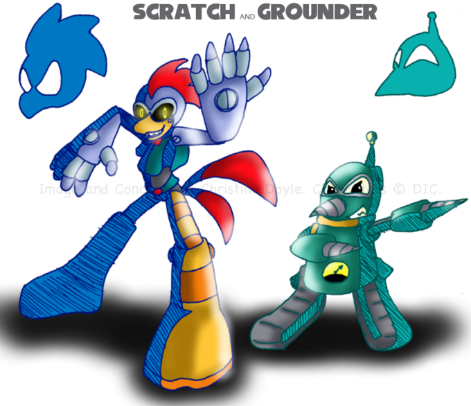 Scratch and Grounder