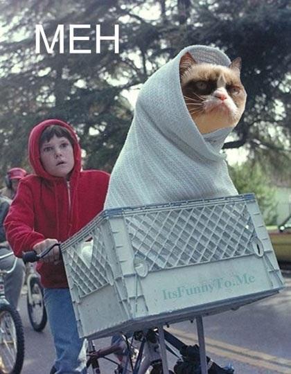 Grumpy E.T.