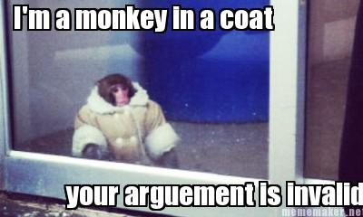 Ikea Monkey Argument is Invalid