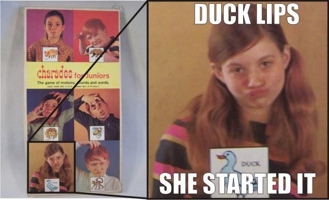 Duck Lips Origin