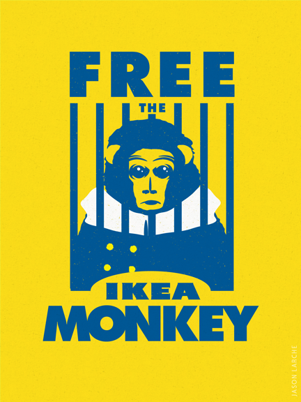 Free The IKEA Monkey!
