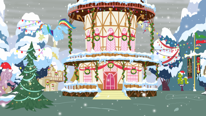 Decorating Ponyville
