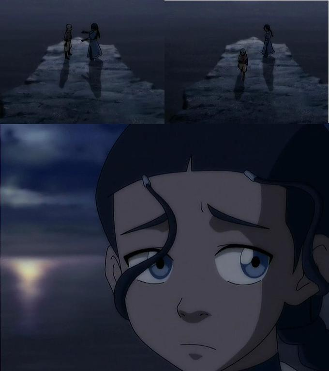 Not-hugged Katara is the saddest Katara