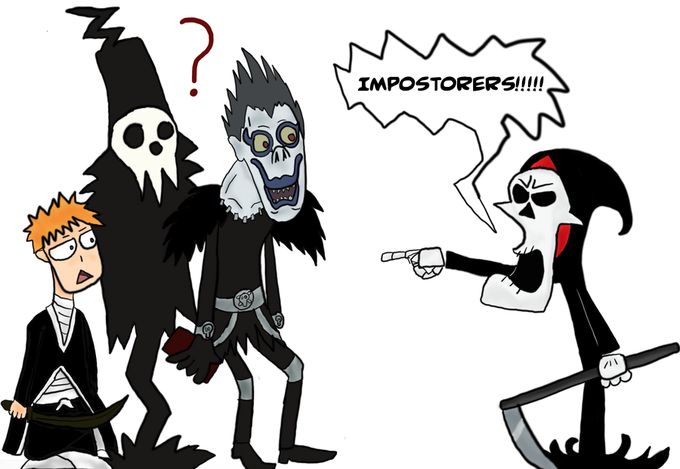 Grim Reaper VS Shinigami