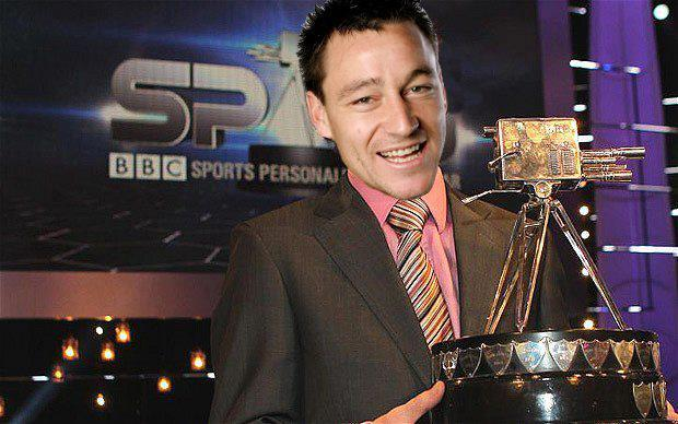 John Terry wins Sports Personality of the Year 2012