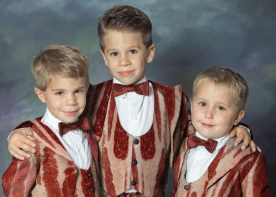Kiddie Bacon Suits