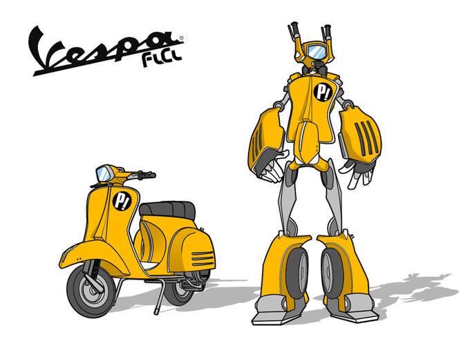 Transformers - Vespa FLCL