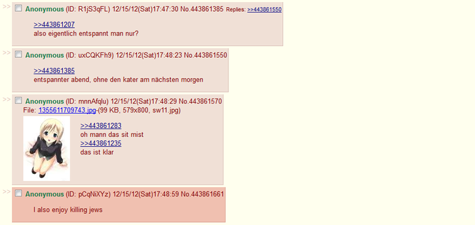 Meanwhile, on a German thread...