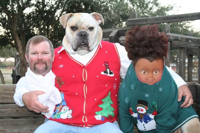 The Best Christmas Family Portrait of 2012