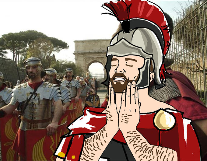Feels good to be Roman