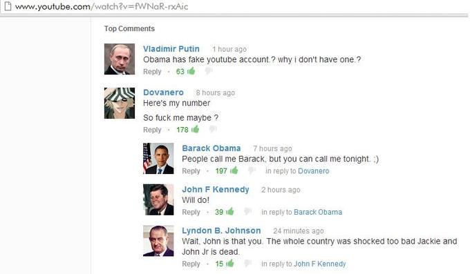 Call Me Maybe Top Comments