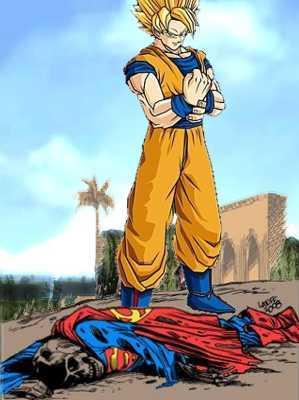 Goku kills Superman