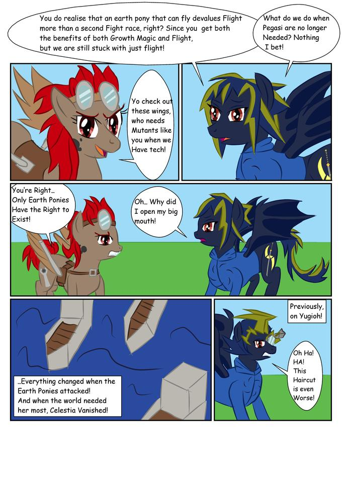 The Earth Pony OC War
