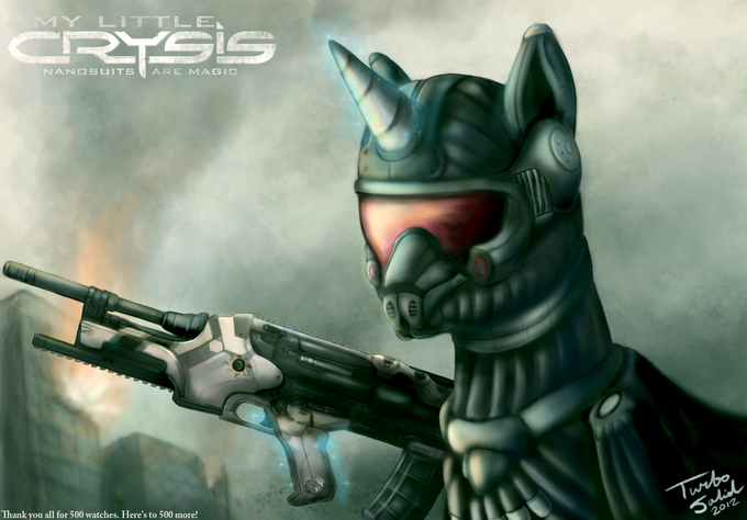 My Little Crysis: Nanosuits are Magic