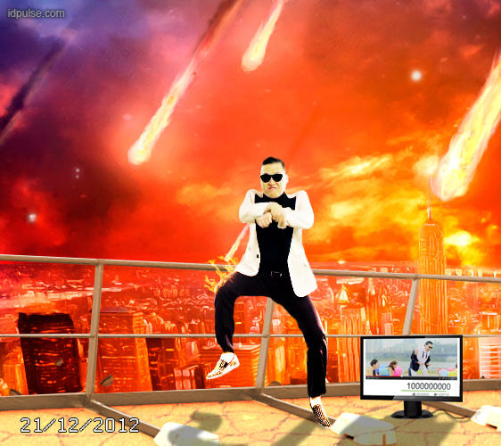 Gangnam billion on maya apocalypse