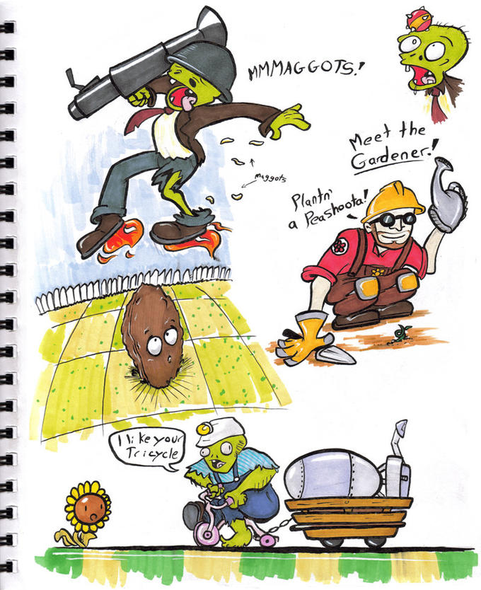 Plants VS Zombies Fortress 2