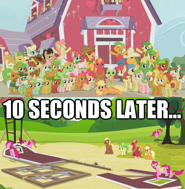 why pinkie's aren't allowed to reunions...
