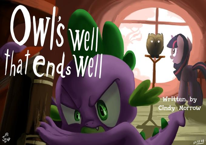 Owl's well that ends well title card