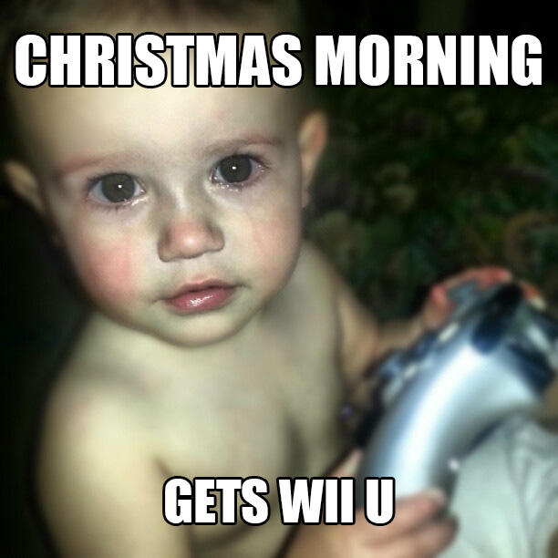Crying Gamer Baby - Wii U