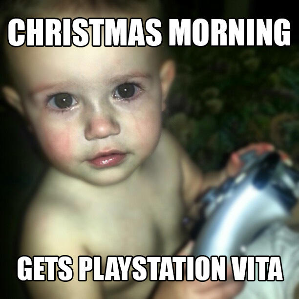 Crying Gamer Baby - Playstation Vita