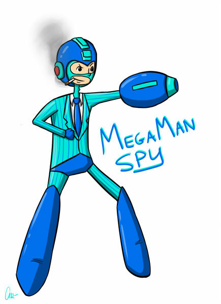 Mega Man Spy